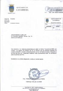 Contestació F. Chirivella (2008)